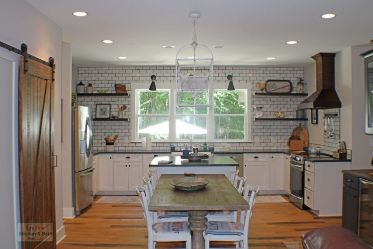 Kitchen Design With Open Shelves