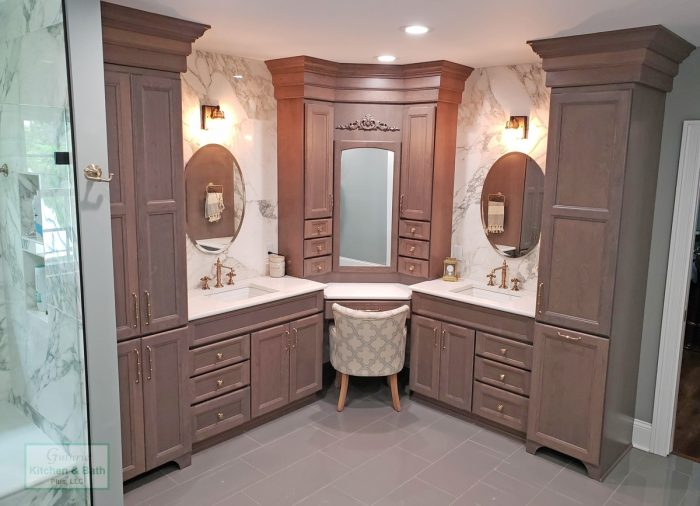 Bathroom Vanity With Seating