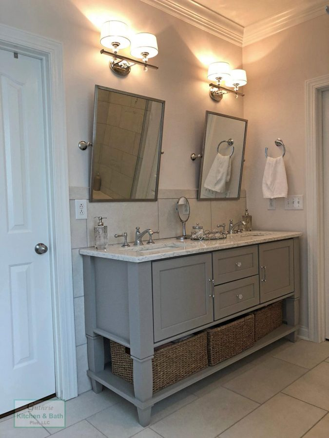 Bathroom Vanity With Wall Sconces